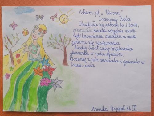 Amelia Gryglak kl III