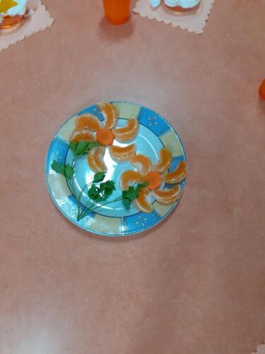 Śniadanie pomarańczowe - przedszkolaki